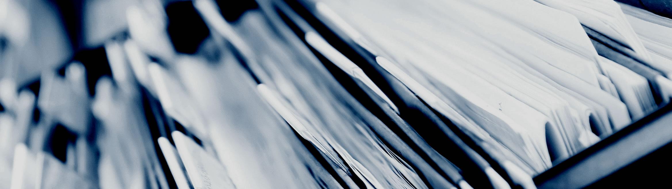 Mit unserem Archiv sind Ihre Dokumente an einem zentralen und geschützten Ort.